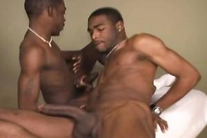 Hot ebony dudes fucking