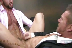 Tomas Brand and Donato Reyes have sex after hours