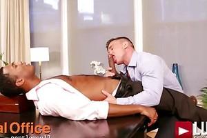 Sean Xavier And Alexander Volkov - Interracial Sex In Suits